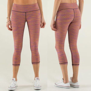 Lululemon Wunder Under Wee are from Space Crop